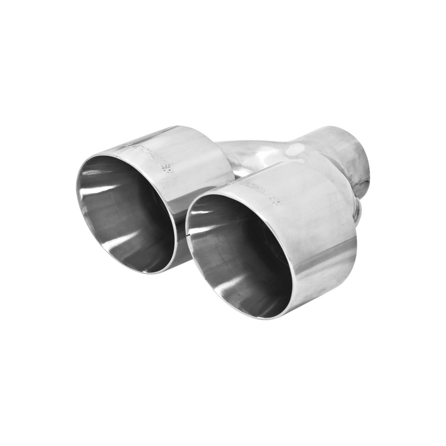 """Flowmaster 15392 Round Weld-On Tip Polished Silver 3/"""" In//4/"""" Out"""