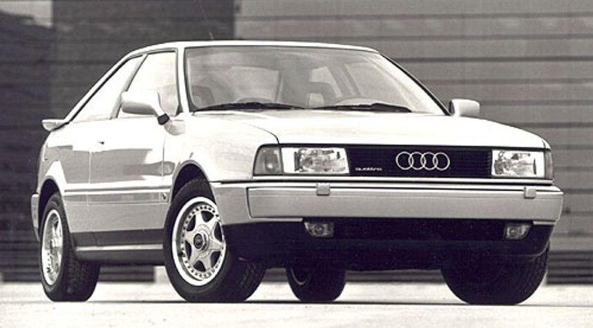 Main photo of Justin Zammit's 1990 Audi Coupe