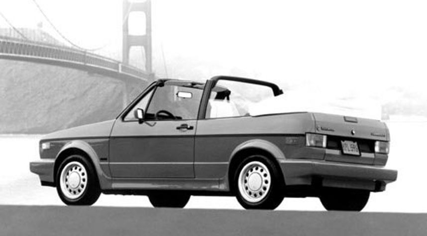 Main photo of Dave G Thomas's 1992 Volkswagen Cabriolet