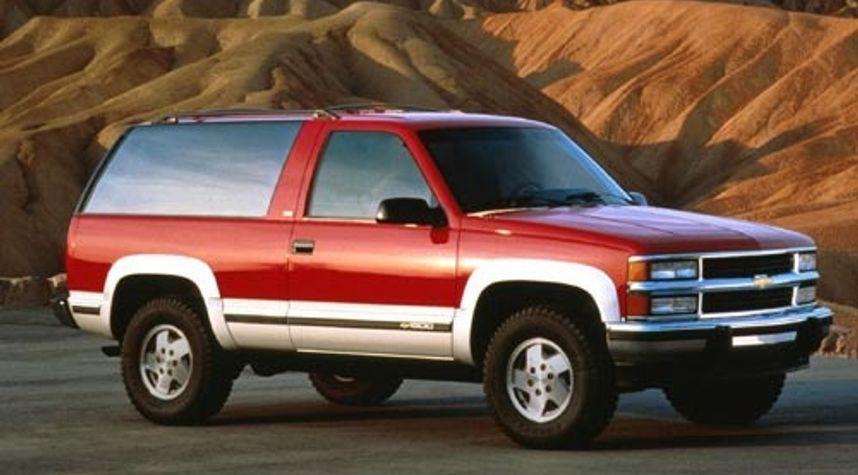 Main photo of David Hughson's 1994 Chevrolet Blazer