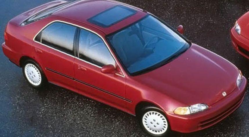 Main photo of Jonathan Ouellet's 1995 Honda Civic