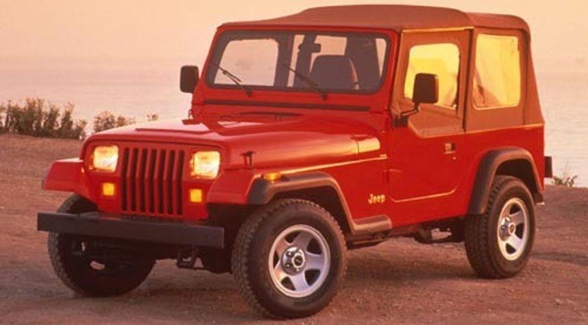 Main photo of Mark Owens's 1995 Jeep Wrangler