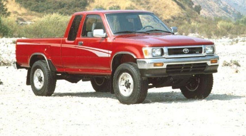 Main photo of Tyler Ward's 1995 Toyota Pickup