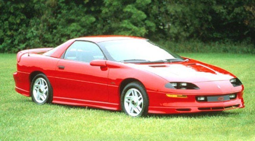 Main photo of William Byrd's 1996 Chevrolet Camaro