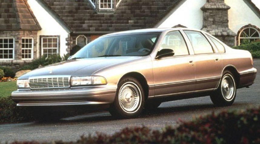 Main photo of Matt Palm's 1996 Chevrolet Caprice