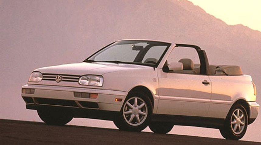 Main photo of Jon Smith's 1996 Volkswagen Cabrio