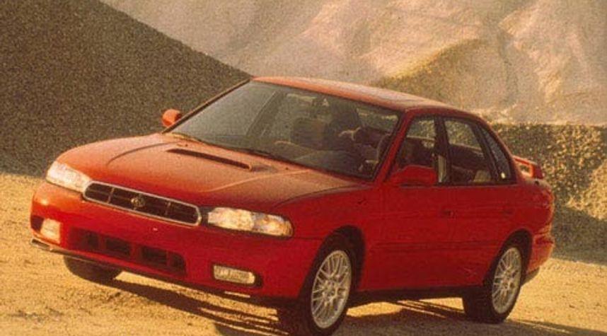 Main photo of Leon Klimek's 1997 Subaru Legacy