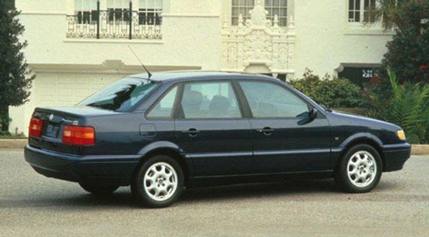 Main photo of Nick Wilson's 1997 Volkswagen Passat