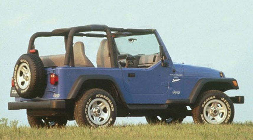 Main photo of Ty Butts's 1998 Jeep Wrangler