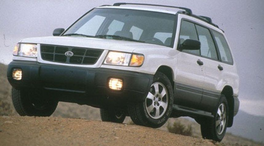 Main photo of Timothy So's 1998 Subaru Forester