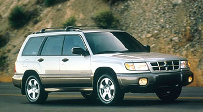 Main photo of Connor Jacobson's 2000 Subaru Forester
