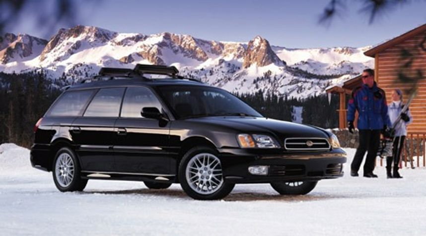 Main photo of Owen Whelan's 2000 Subaru Legacy