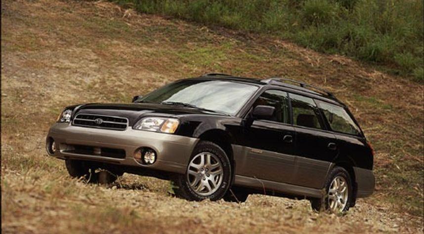 Main photo of Tommy Finucane's 2000 Subaru Outback