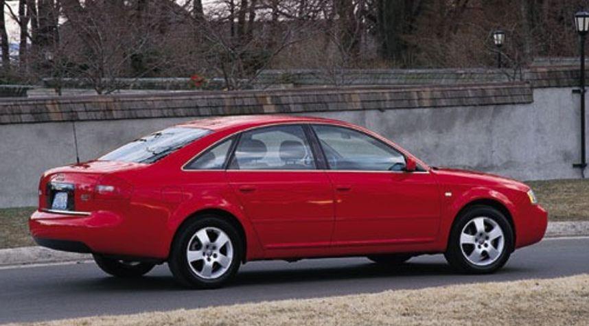 Main photo of Bosco Chan's 2001 Audi A6