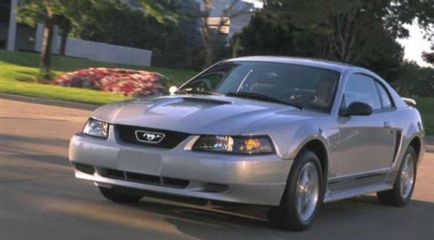 Main photo of Matt Chase's 2001 Ford Mustang