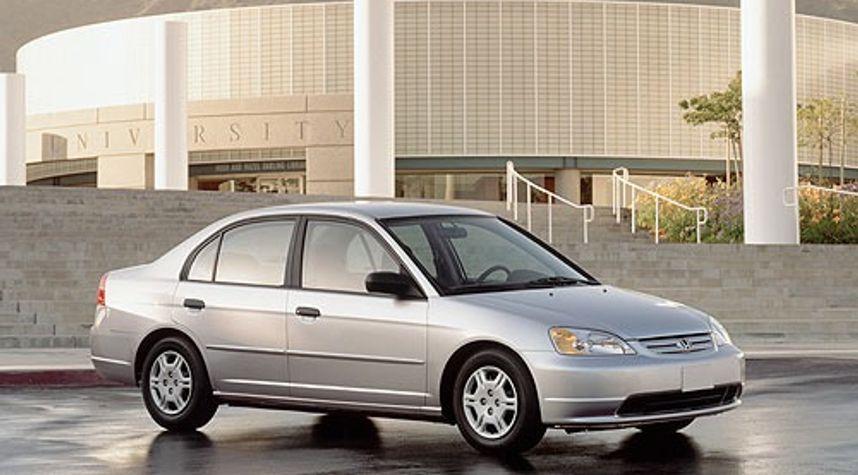 Main photo of Peyton Annett's 2001 Honda Civic
