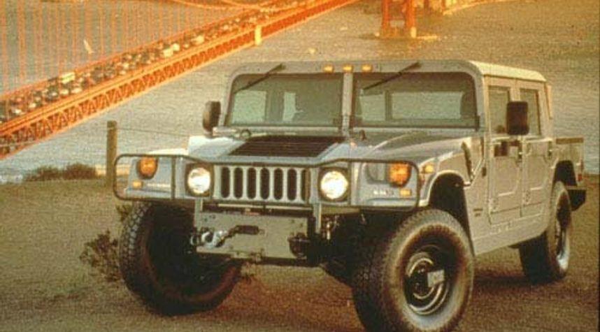 Main photo of Andrew Workmon's 2001 HUMMER H1