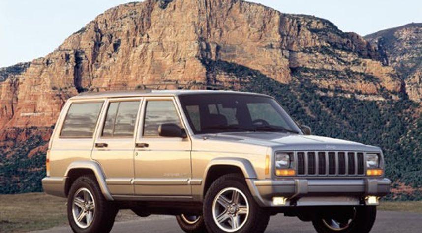 Main photo of Reed Potts's 2001 Jeep Cherokee