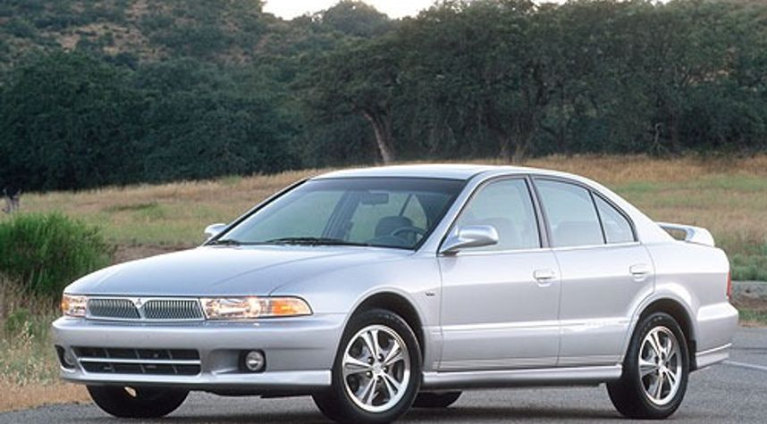 Main photo of Dave Strathearn's 2001 Mitsubishi Galant