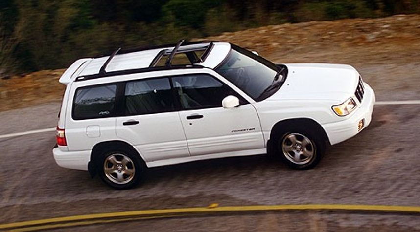 Main photo of Gavin Grams's 2001 Subaru Forester