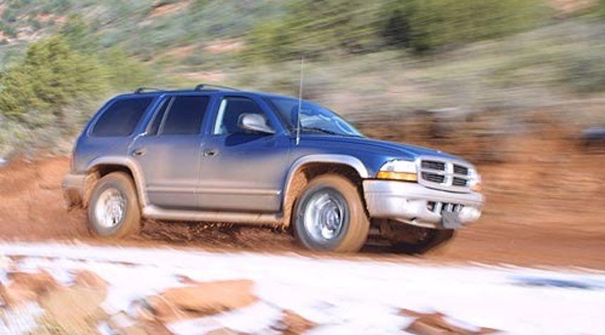 Main photo of Jeremy Bowers's 2002 Dodge Durango