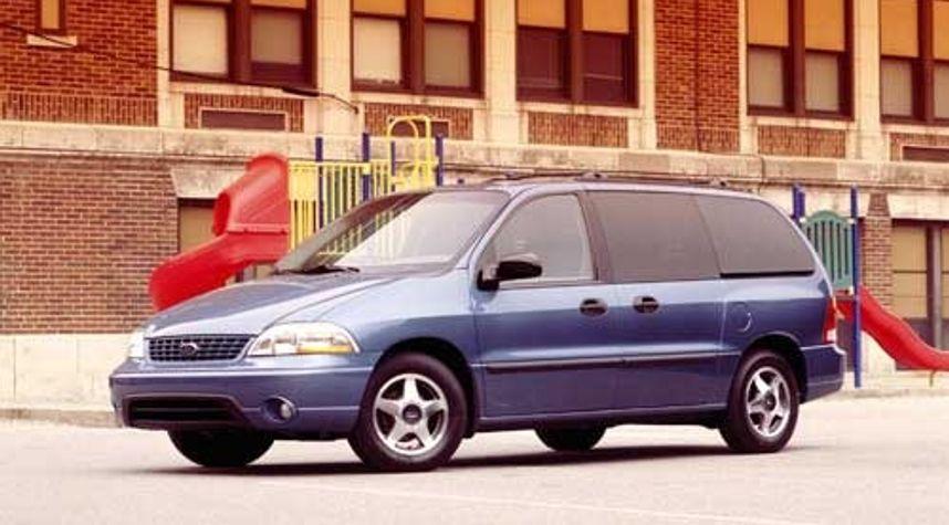 Main photo of Brad Hermann's 2002 Ford Windstar