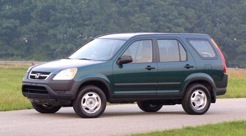 Main photo of Robert Pangilinan's 2002 Honda CR-V