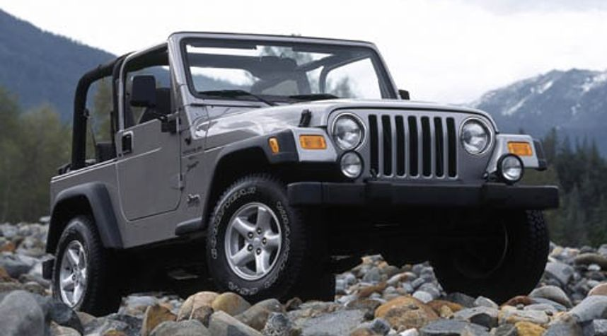 Main photo of Richard Massie's 2002 Jeep Wrangler