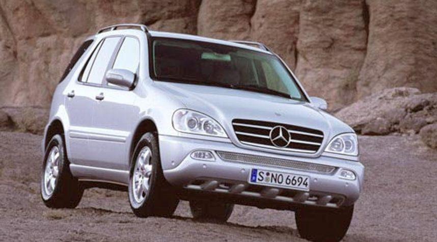 Main photo of Patrick Ellis's 2002 Mercedes-Benz M-Class