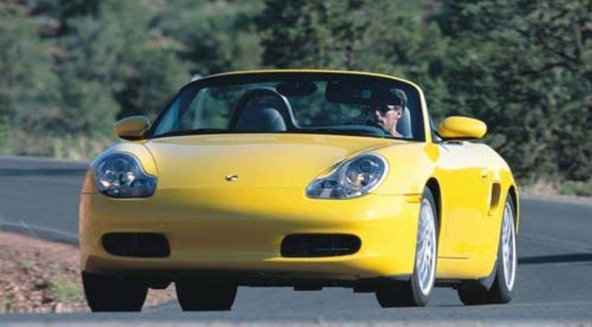 Main photo of Jerry Magana's 2002 Porsche Boxster