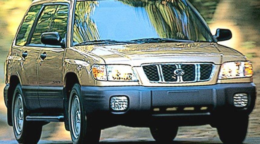 Main photo of Andrew Messina's 2002 Subaru Forester