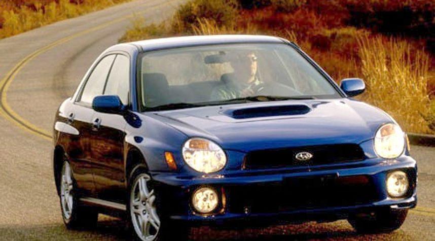 Main photo of Steve Strand's 2002 Subaru Impreza