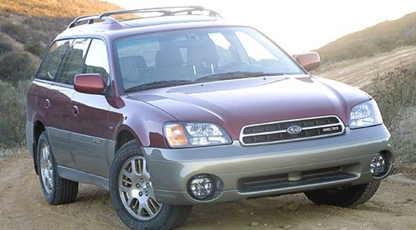 Main photo of Kenny Raymes's 2002 Subaru Outback