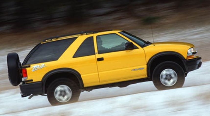 Main photo of Owen Segaard's 2003 Chevrolet Blazer