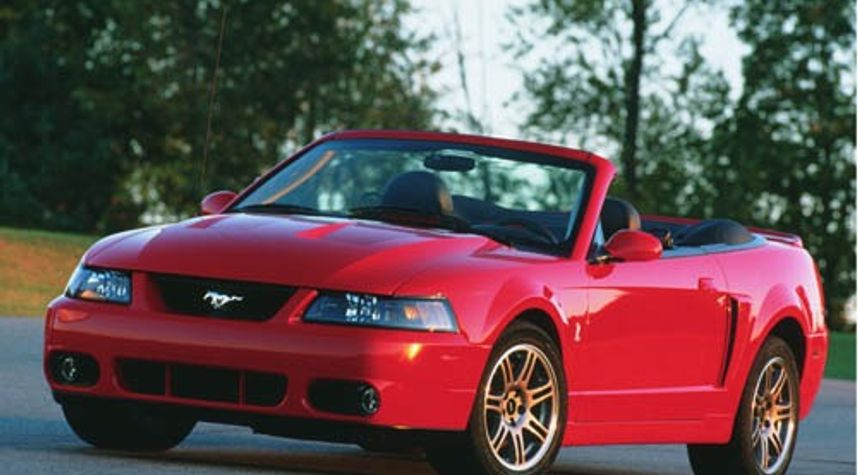 Main photo of Andrew Workmon's 2003 Ford Mustang