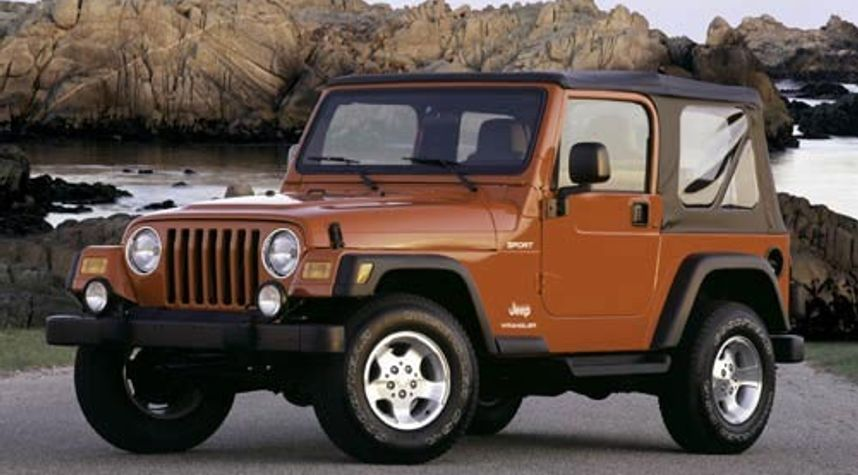 Main photo of Marcus Lehning's 2003 Jeep Wrangler