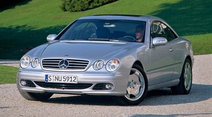 Main photo of Chad Underwood's 2003 Mercedes-Benz CL-Class