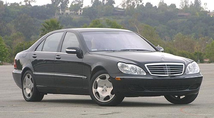 Main photo of Udit Thilak's 2003 Mercedes-Benz S-Class