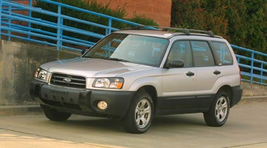 Main photo of Oscar Puga's 2003 Subaru Forester