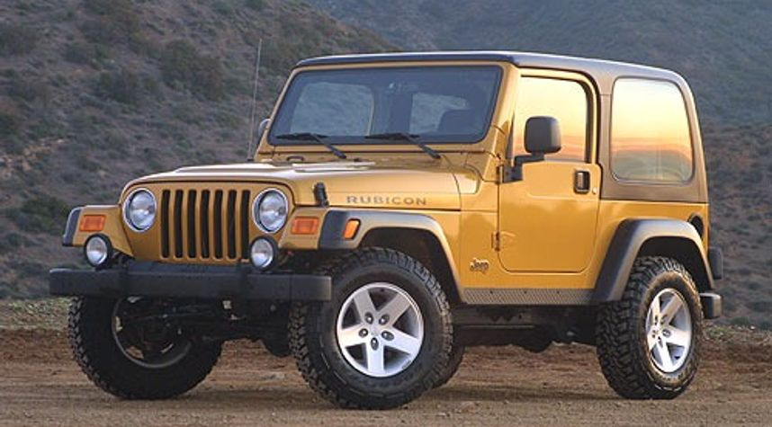 Main photo of Ryan Gallagher's 2004 Jeep Wrangler
