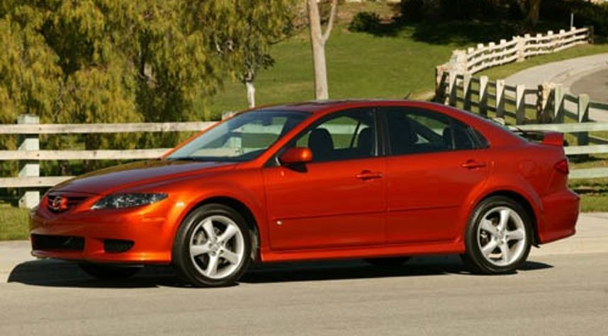 Main photo of Frank Cirillo's 2004 Mazda MAZDA6