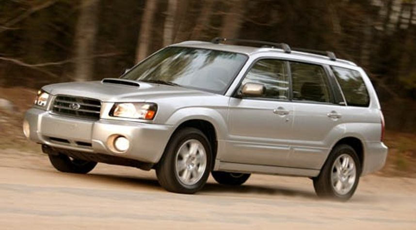 Main photo of Eric Loiselle's 2004 Subaru Forester