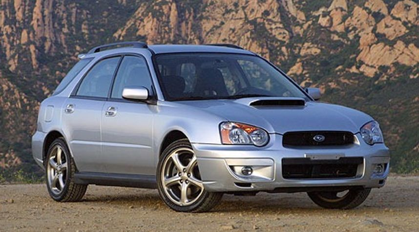 Main photo of Zhane Tomlin's 2004 Subaru Impreza