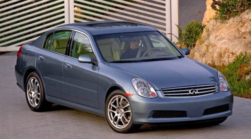 Main photo of Shane L Beers's 2005 Infiniti G35