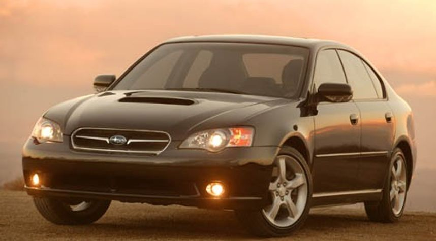 Main photo of Tyler Sundquist's 2005 Subaru Legacy