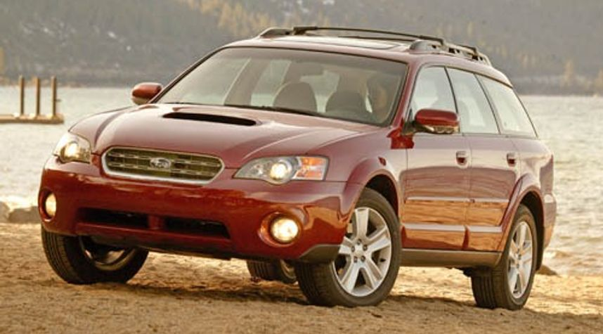 Main photo of Carlie Bentley's 2005 Subaru Outback
