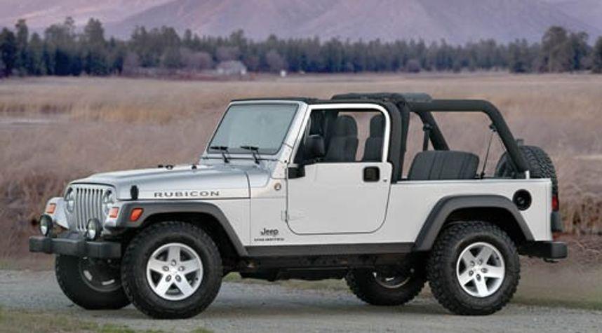 Main photo of Alex Robbins's 2006 Jeep Wrangler