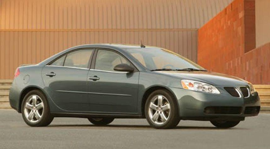 Main photo of Zach Krys's 2006 Pontiac G6