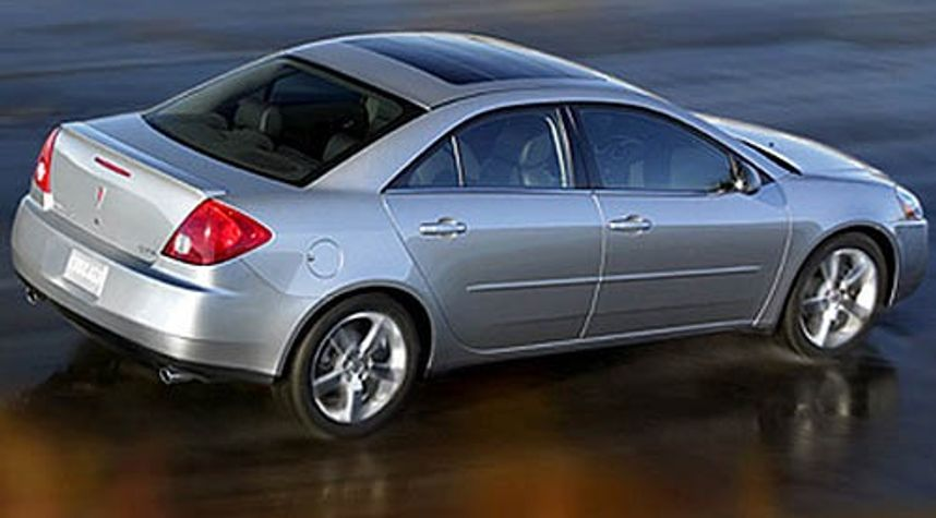 Main photo of Gregory Sondag's 2006 Pontiac G6