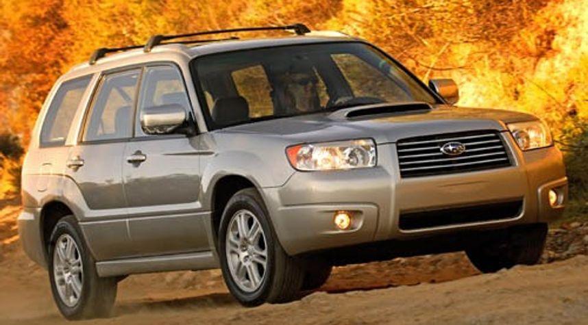 Main photo of Thomas Ardito's 2007 Subaru Forester